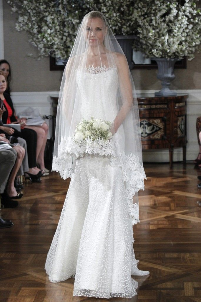 Spring 2013 wedding dress collections Romona Keveza bridal gown lace