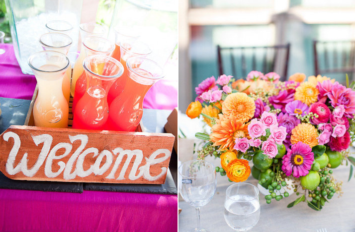 Summer Wedding Centerpiece Ideas