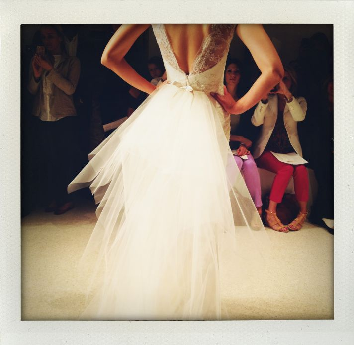 spring 2013 wedding dress bridal market runway 2