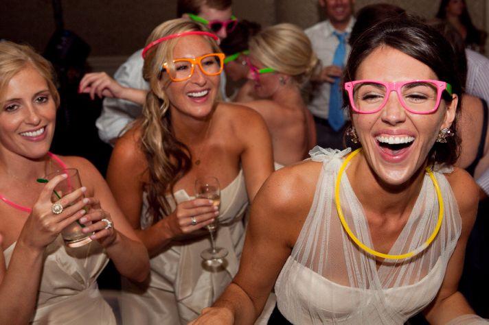bride wears vera wang wedding dress black sash