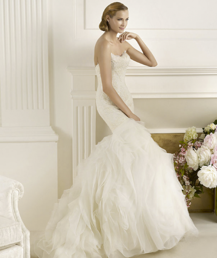 2013 wedding dress Pronovias Glamour collection bridal gowns Duende