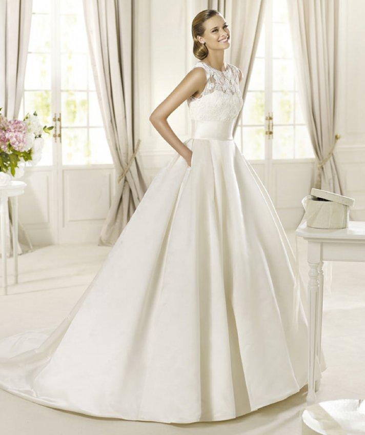 2013 wedding dress Pronovias Costura collection bridal gowns Dalia