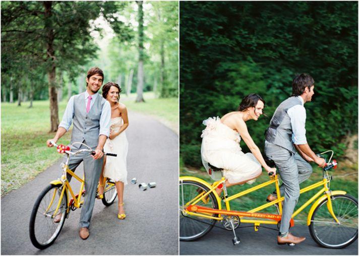 green wedding ideas eco friendly transportation