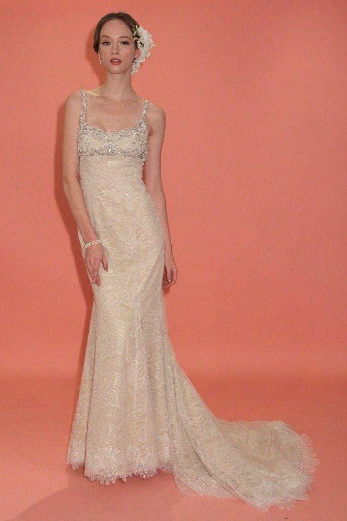 Beige Wedding Gown 17 Cool badgley mischka wedding dress