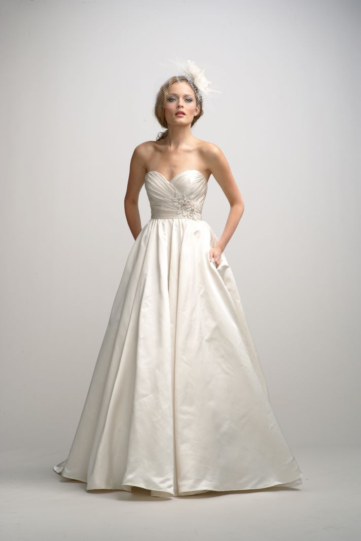 Best wedding dresses from fall 2012 watters bridal collection for Wedding dresses for bridesmaid