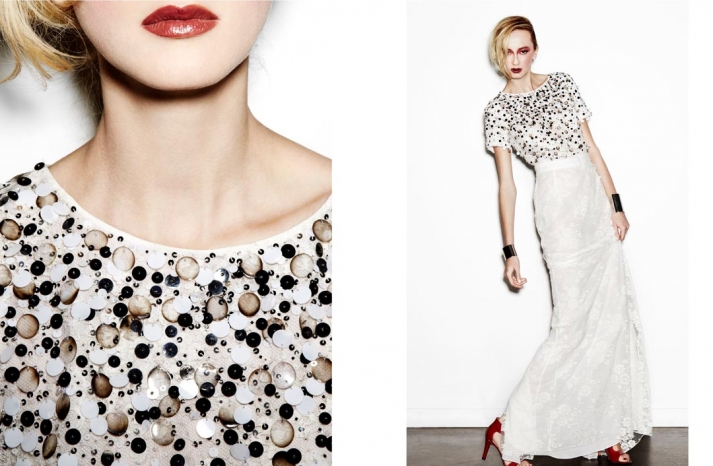 daring new wedding dress designer Houghton NYC bridal gowns 15