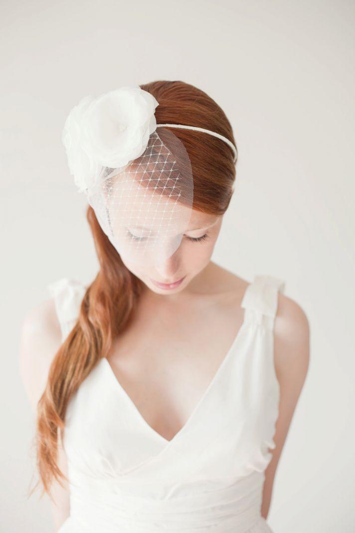 romantic wedding hair accessory SIBO designs bridal hair accessories 1