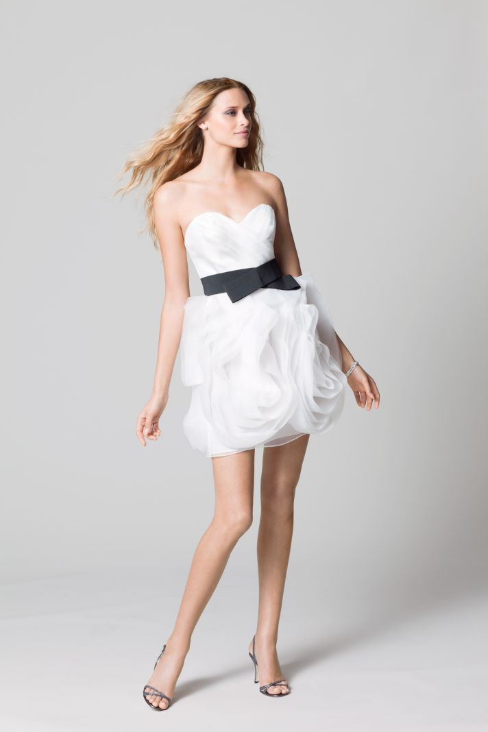 affordable bridesmaids dresses Fall 2012 WTOO by Watters bridal party LWD