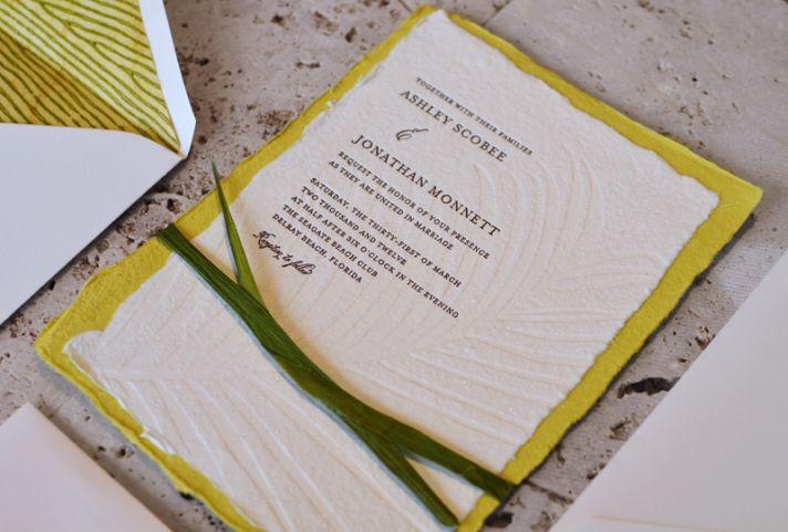 green wedding ideas recycled wedding invitations
