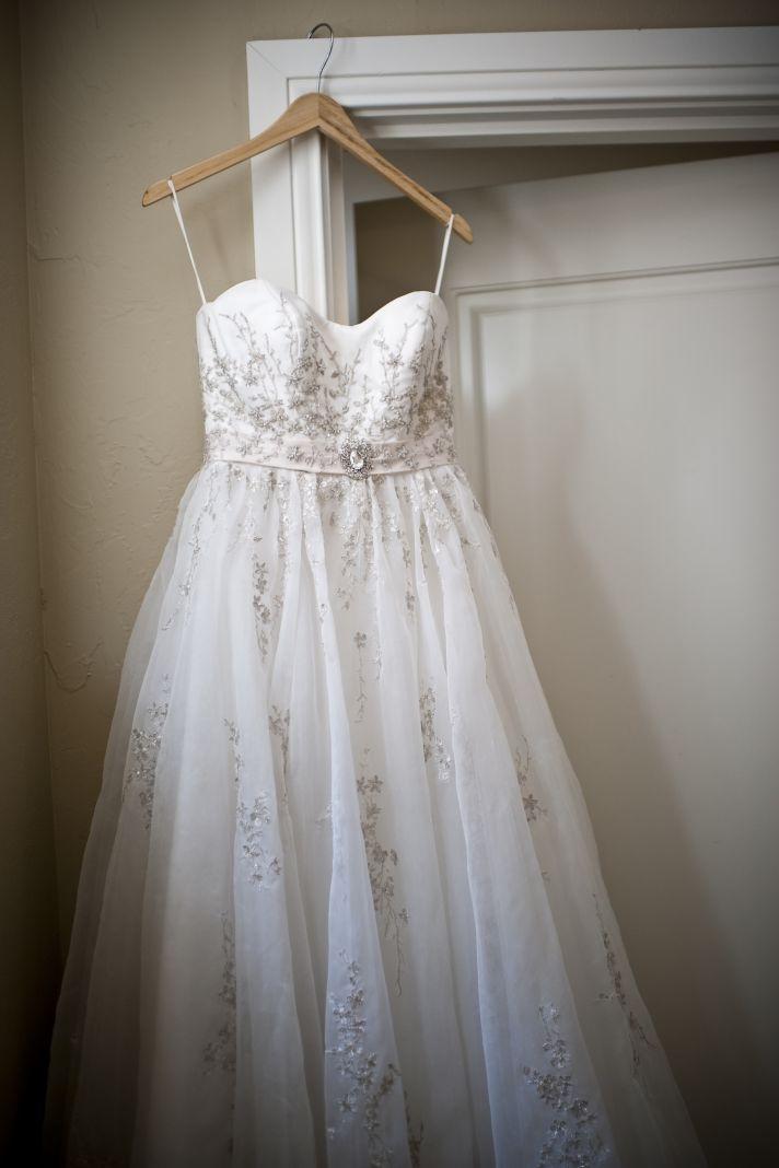 classic fall wedding romantic wedding dress