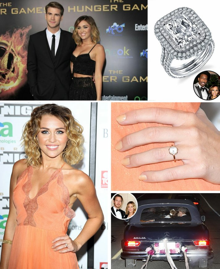 celebrity weddings engagement summer 2012