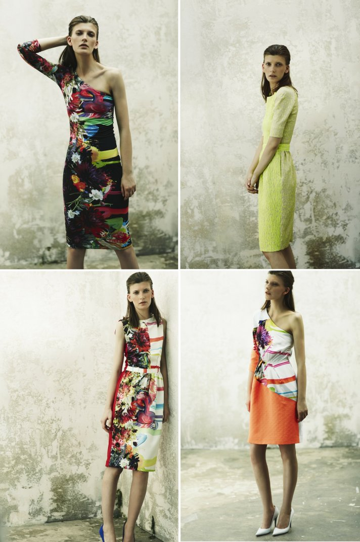 floral printed bridesmaids dresses 2013 wedding trends