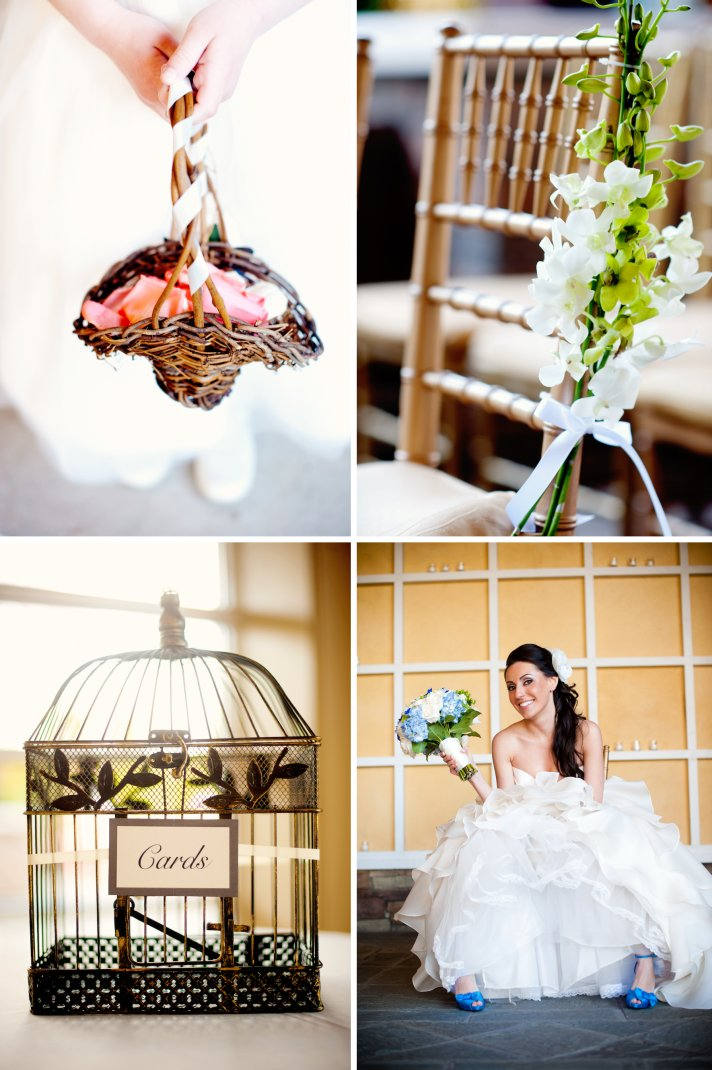 elegant real wedding with simple details