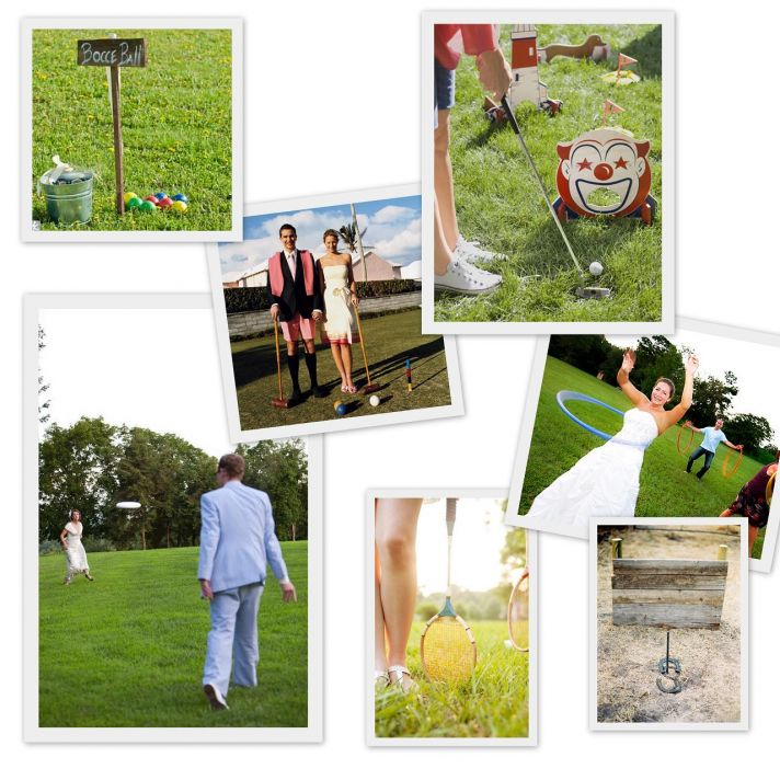 fun lawn games for outdoor weddings