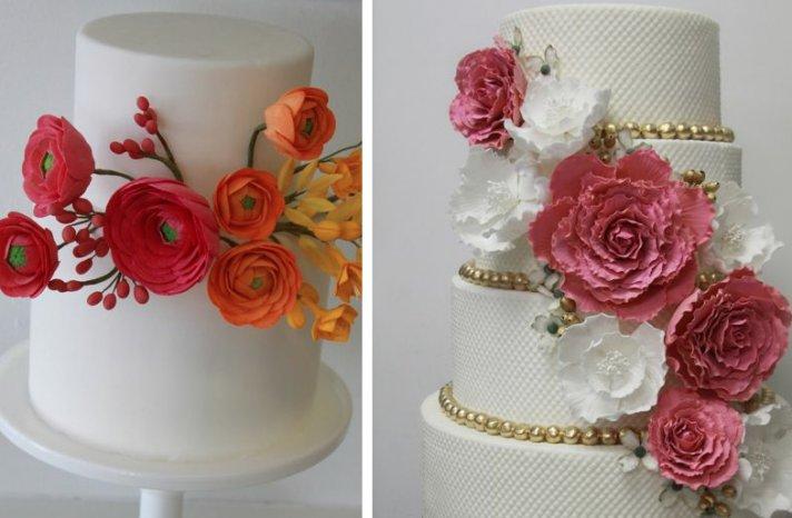 romantic floral wedding cakes 14