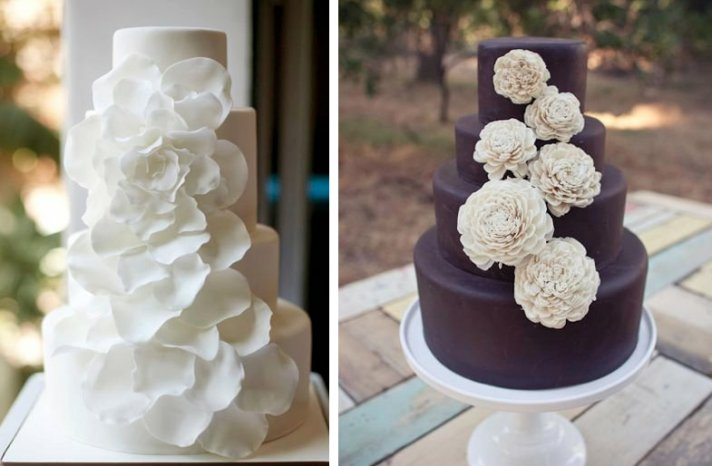 romantic floral wedding cakes 3