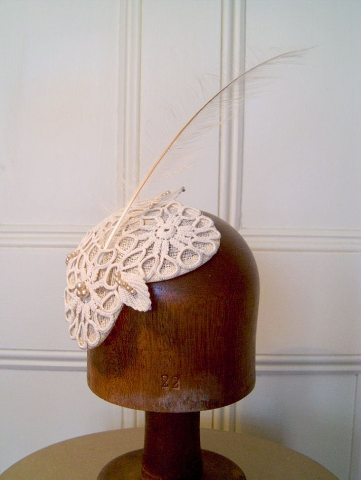 bridal veils hair accessories by Suzy Orourke royal wedding cap
