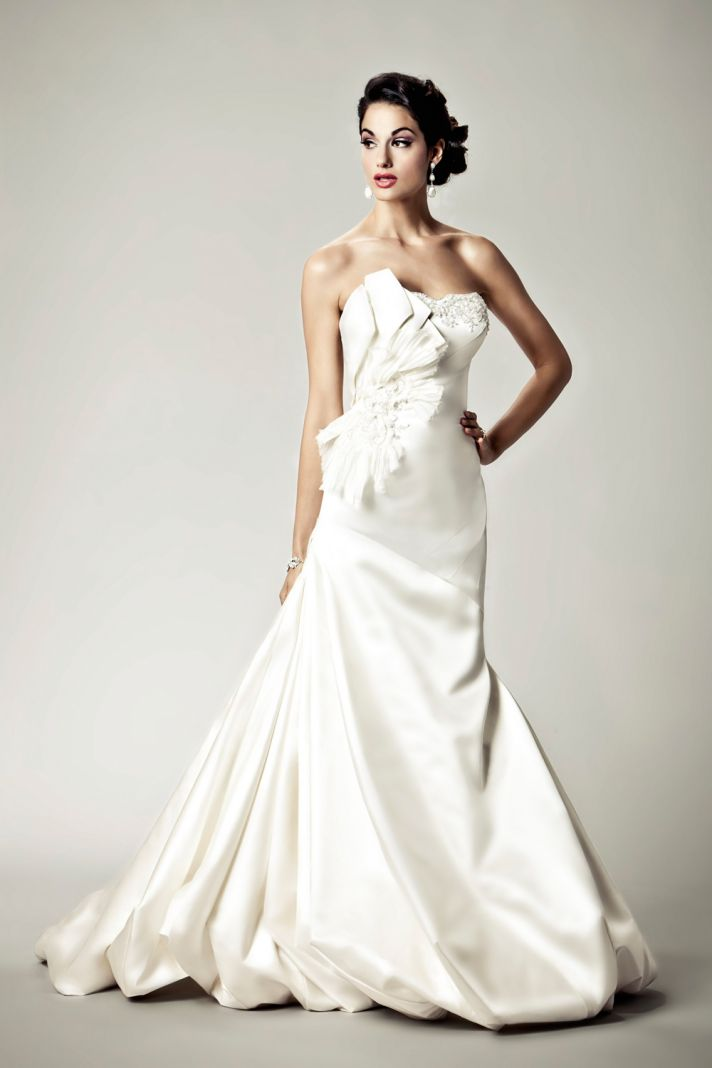 2012 wedding dresses Matthew Christopher bridal gown vertigo