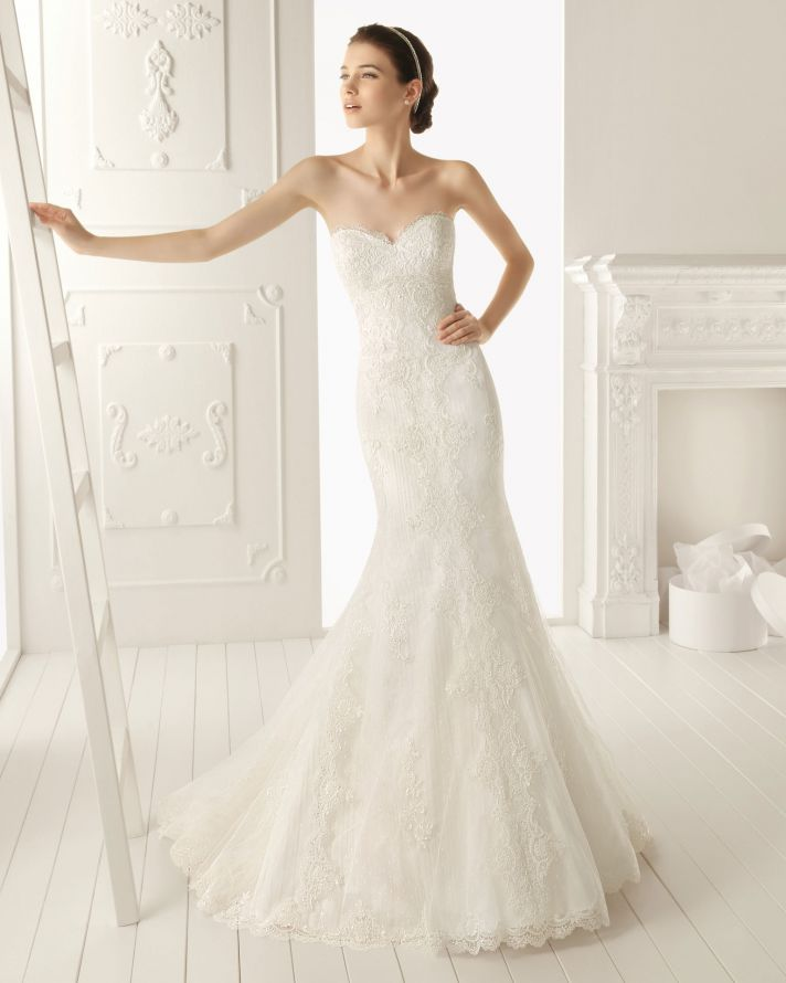 2013 wedding dress by Aire Barcelona bridal gowns rafaela