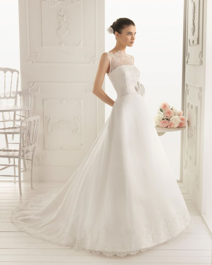 2013 wedding dress Aire Barcelona bridal gowns rier