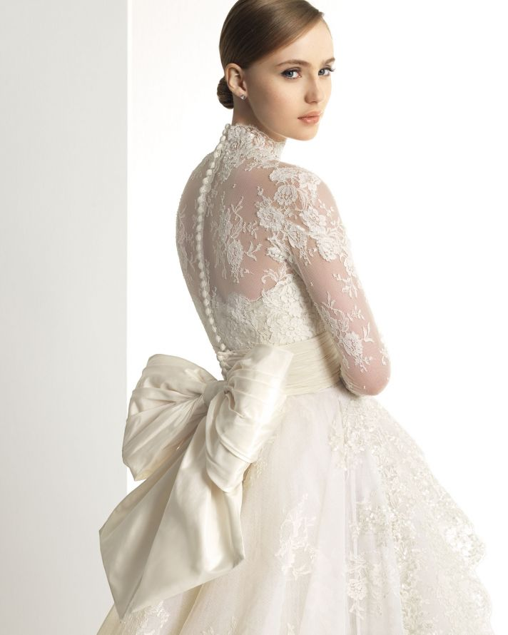 2013 wedding dress Zuhair Murad for Rosa Clara bridal gowns 305 detail