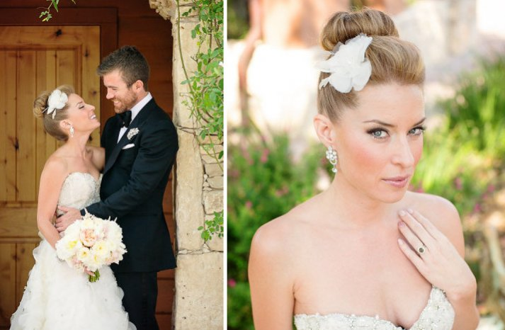 bridal updos we love summer 2012 ballet bun