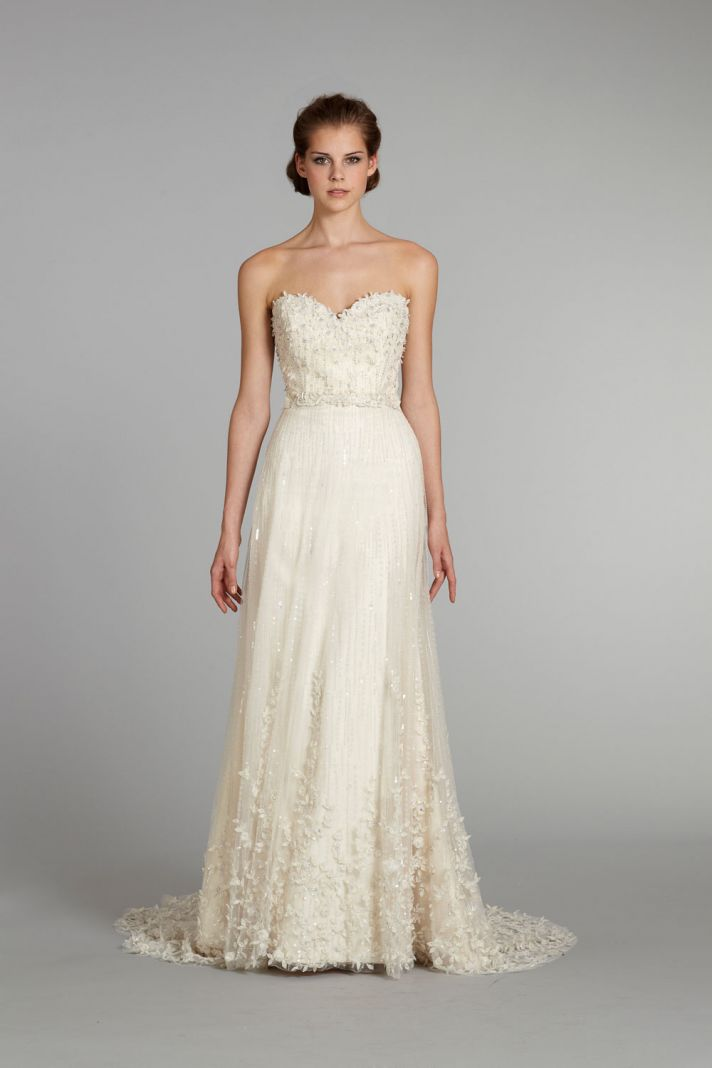 fall 2012 wedding dress Lazaro bridal gowns 3261 f