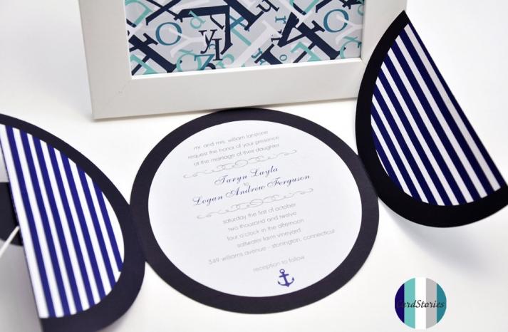 wedding color inspiration navy blue bridal wedding finds nautical invitations