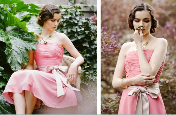 stylish bridesmaids dresses from Ruche affordable bridal party attire 2