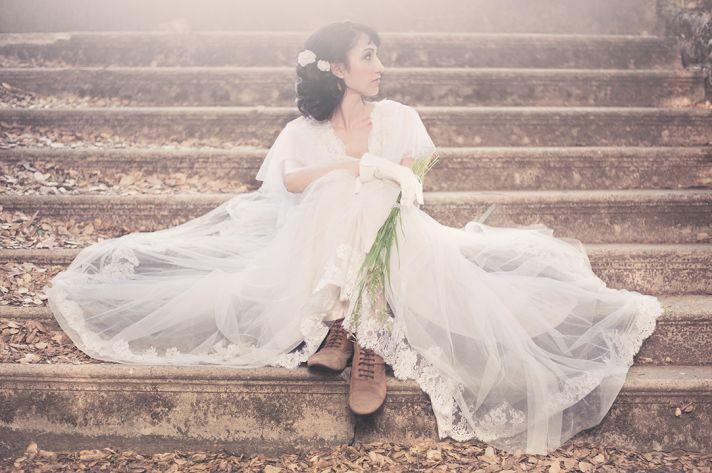 romantic wedding inspiration vintage bridal style 1