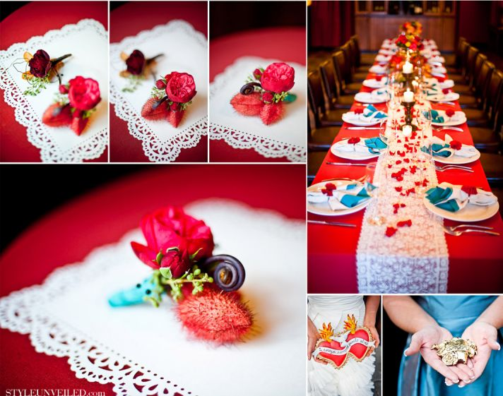 creative wedding themes reception inspiration Havana Nights Cuban style 1
