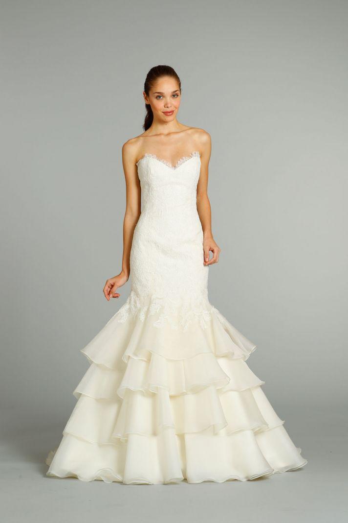 fall 2012 wedding dress Jim Hjelm bridal gowns 8255