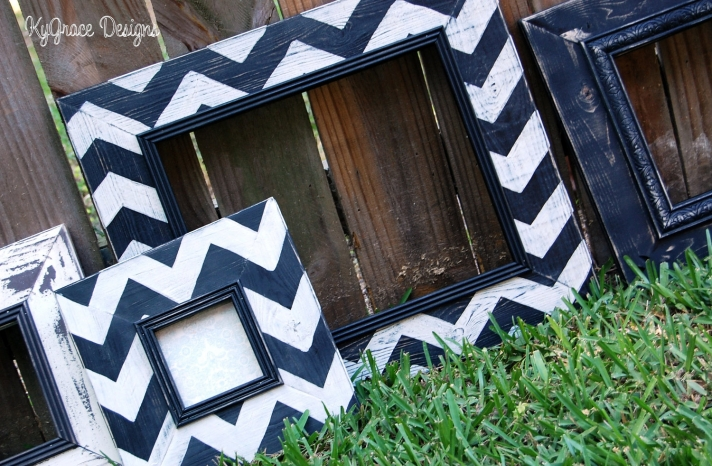 chevron wedding inspiration wedding decor details for the reception navy white frames