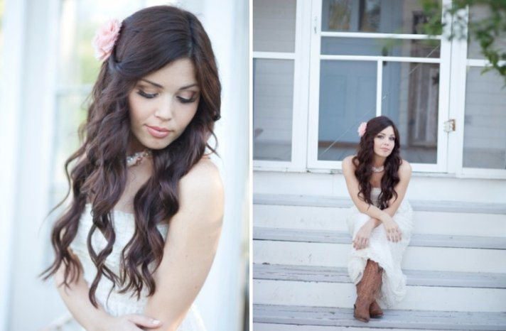 all down wedding hairstyles bridal beauty inspiration 8