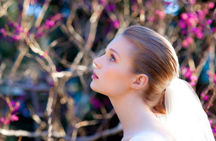 romantic wedding hair makeup inspiration 20