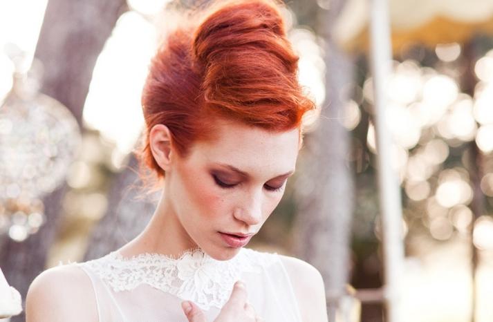 romantic wedding hair makeup inspiration 15