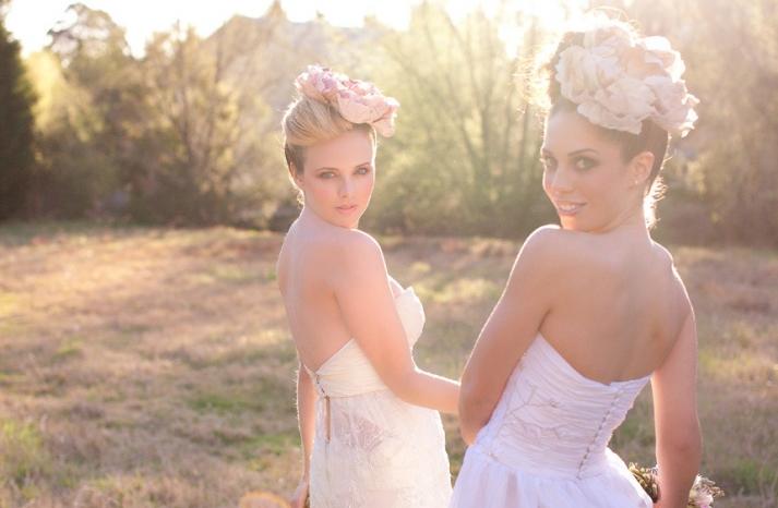 romantic wedding hair makeup inspiration 4