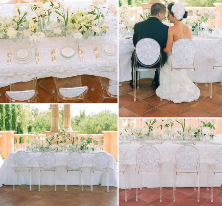 Celebrity Story On The Spot: Marriage Ceremony Chairs