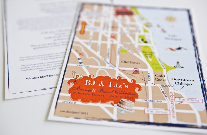 map inspired weddings travel themed wedding invitations and paper from Etsy Chicago