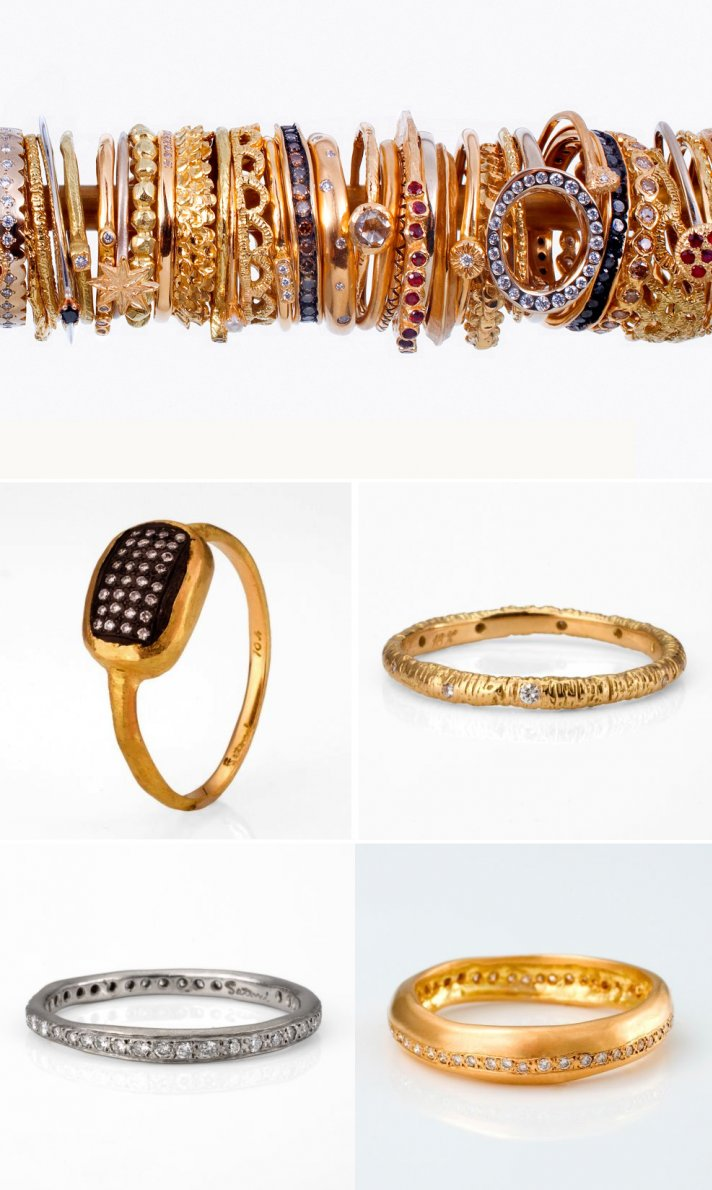 unique engagement rings and wedding bands that sparkle brighter 2