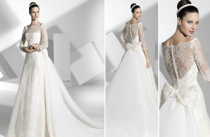 2013 wedding dress Franc Sarabia bridal gowns Spanish designers 2