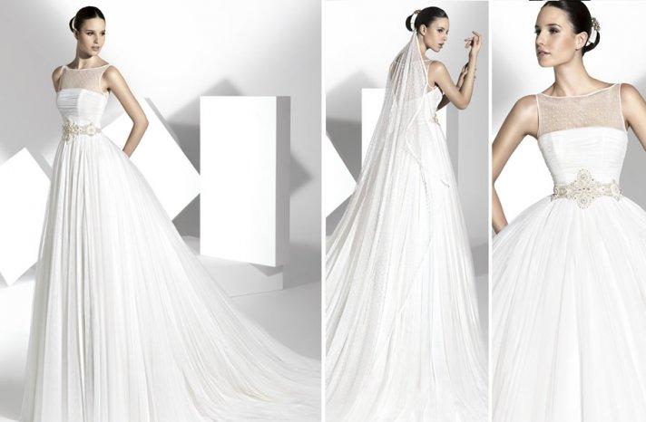 2013 wedding dress Franc Sarabia bridal gowns Spanish designers 17