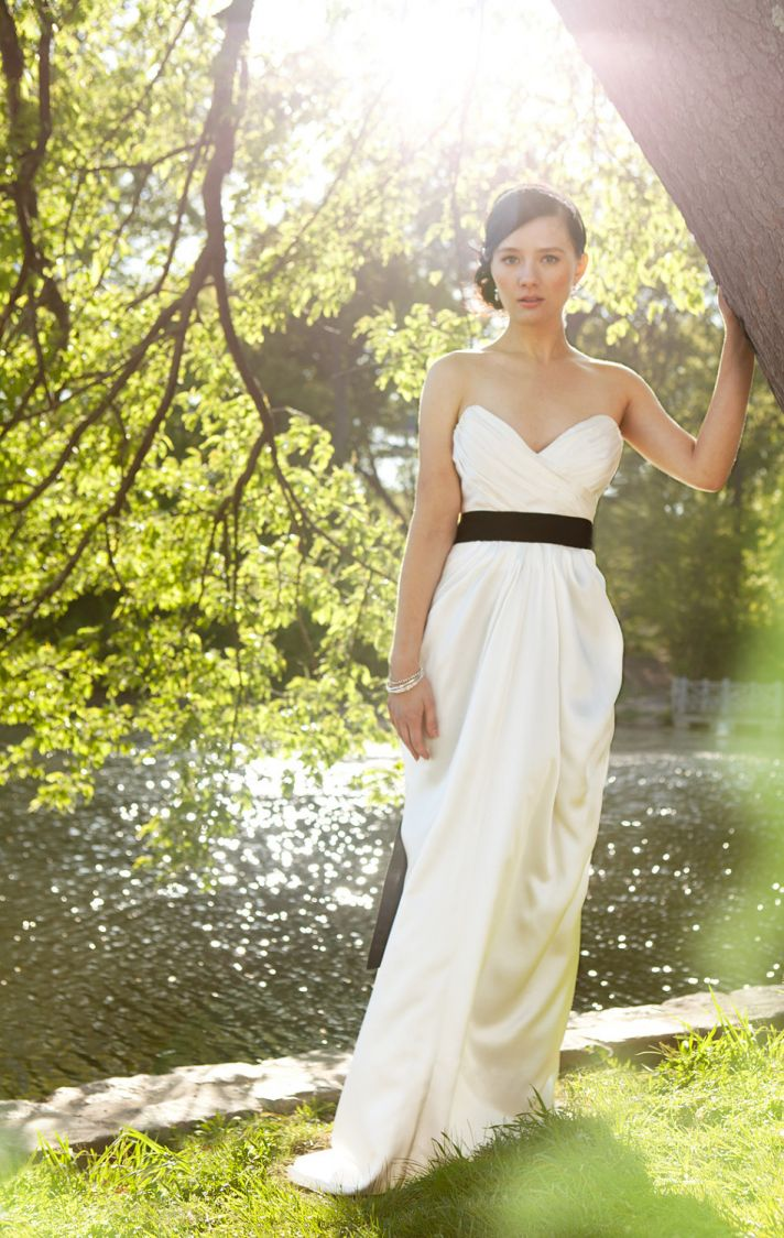 2013 wedding dress trends shirring technique Etsy bridal gowns 1