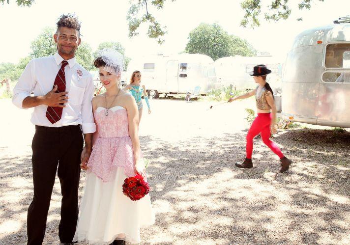 unique wedding dresses non white bridal gown pink lace