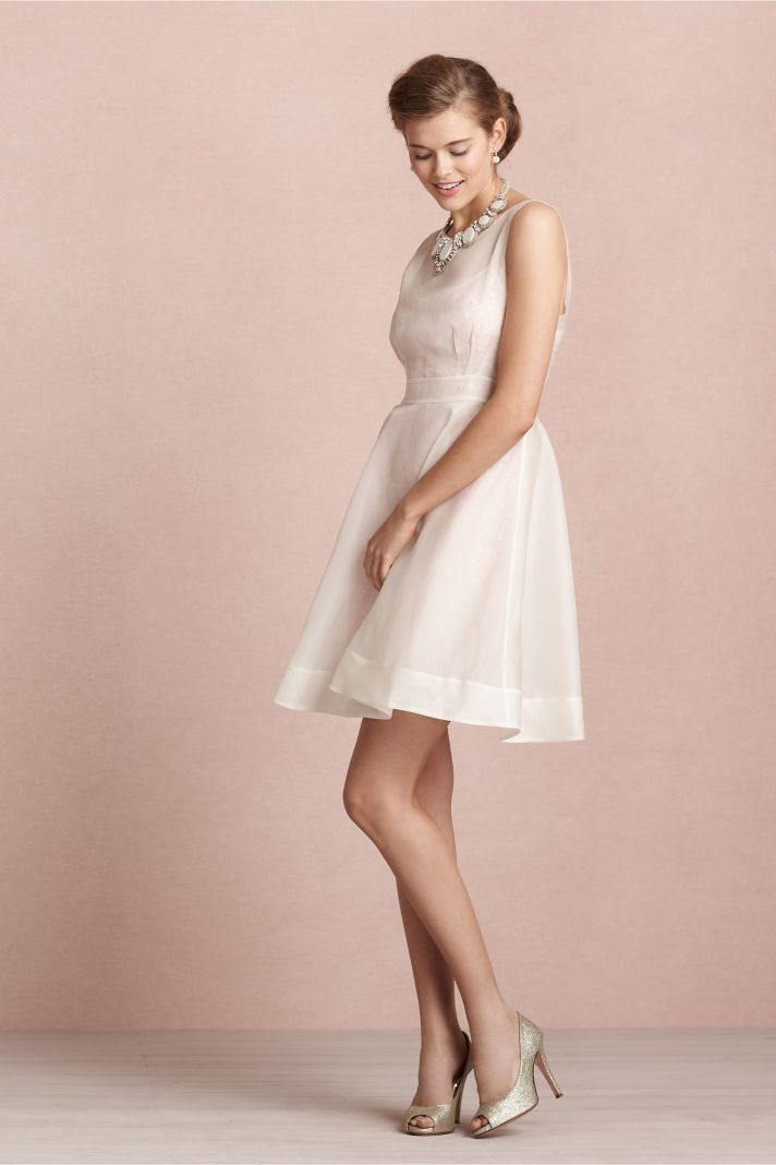 covetable bridesmaid dresses from BHLDN 2013 bridal party style sheer ivory