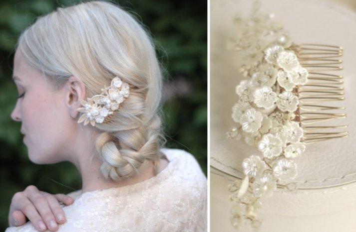 beautiful bridal hair accessories Parant Parant wedding headband 7