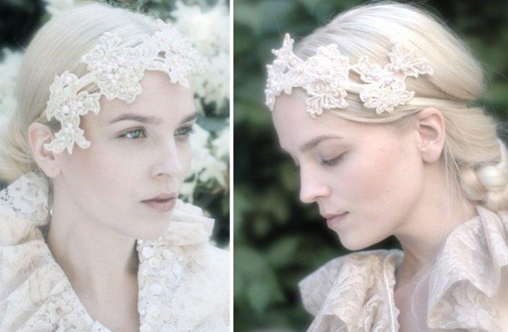 beautiful bridal hair accessories Parant Parant wedding headband 2