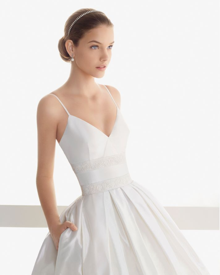 transforming wedding dresses 2013 bridal gown by Rosa Clara 1