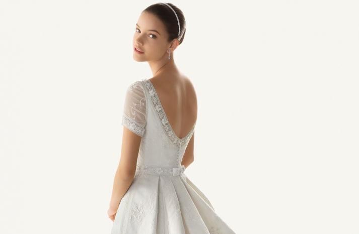 2013 wedding dresses beautiful statement backs by Rosa Clara scoop back