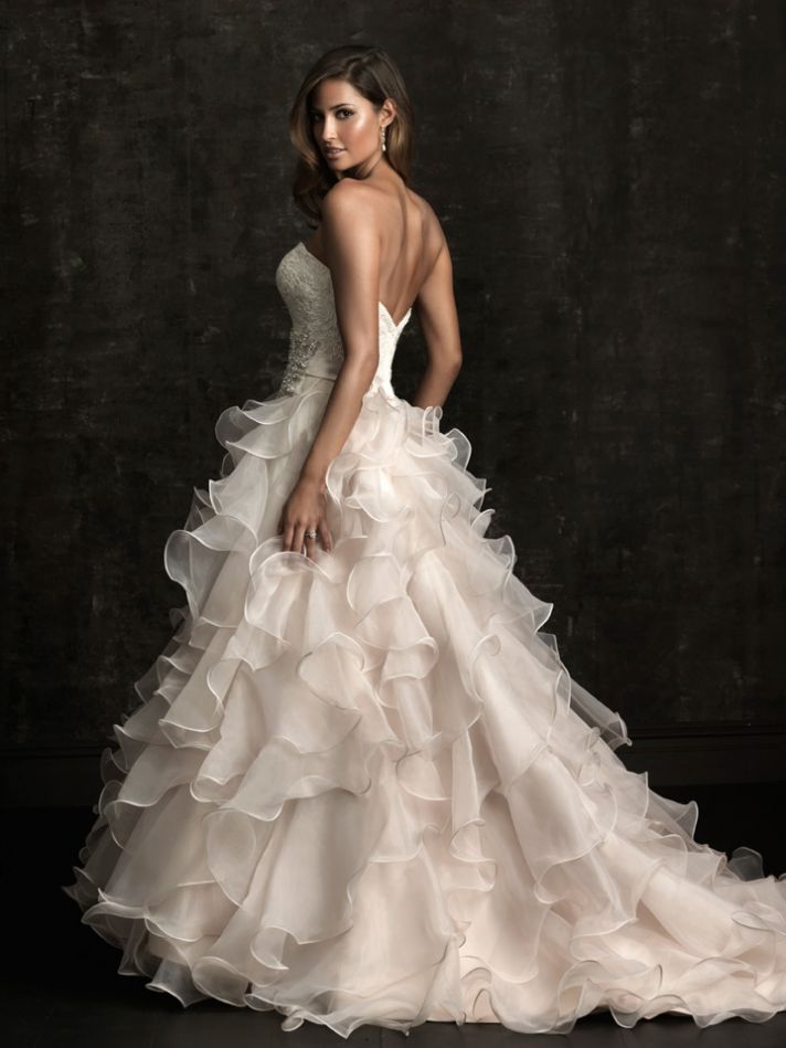 chicboutique 15 wedding gowns to fall for from allure bridals. Black Bedroom Furniture Sets. Home Design Ideas